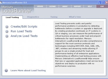 Load Testing with LoadRunner