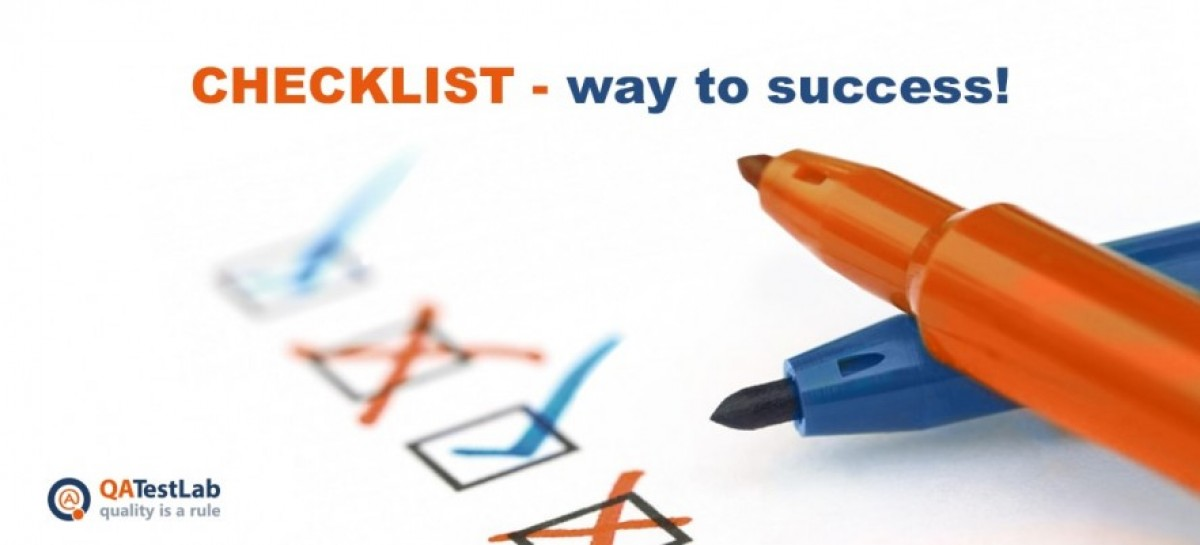 Software Testing Checklist – 5 Steps to Success