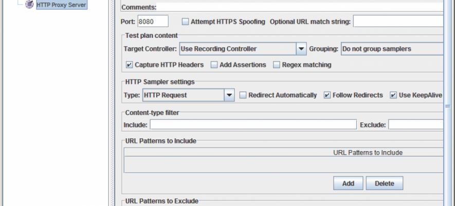 Apache JMeter Basis