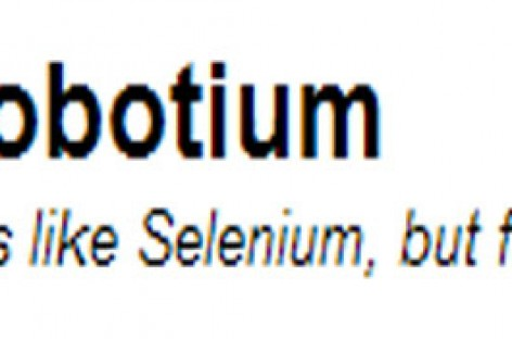 Automated Testing of Mobile Applications. Robotium