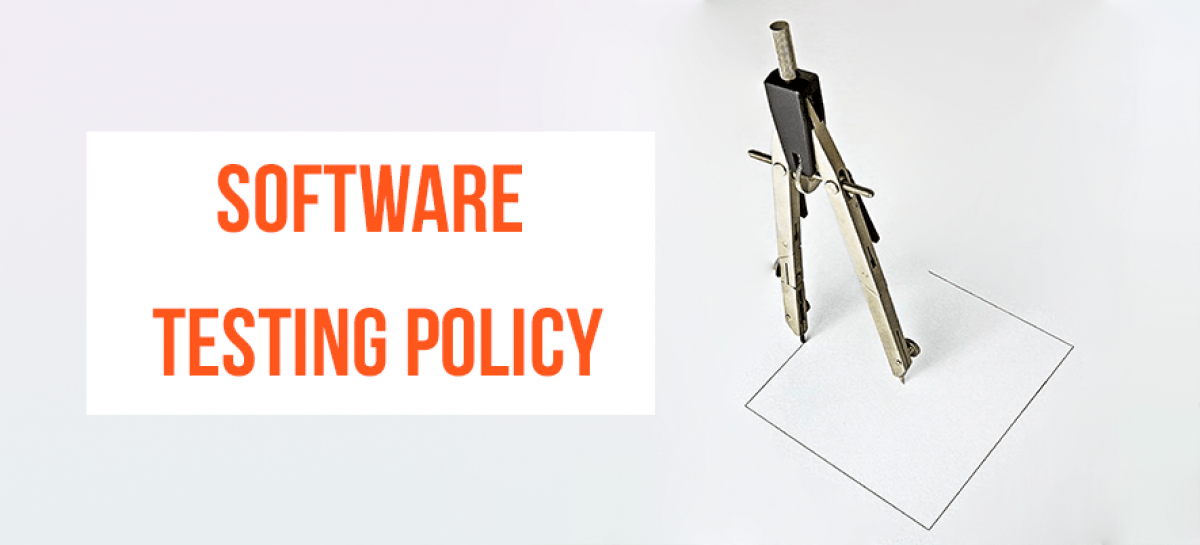 Basics of Software Testing Policy