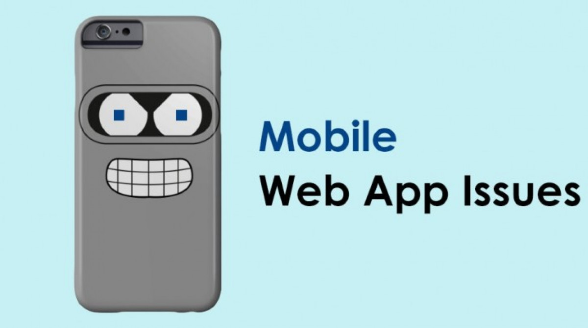 5 Common Problems of Mobile Web Applications