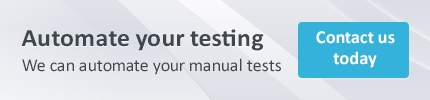 Automate your testing