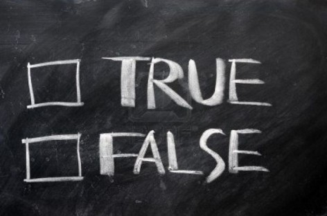 A New Portion of False Statements about Testing