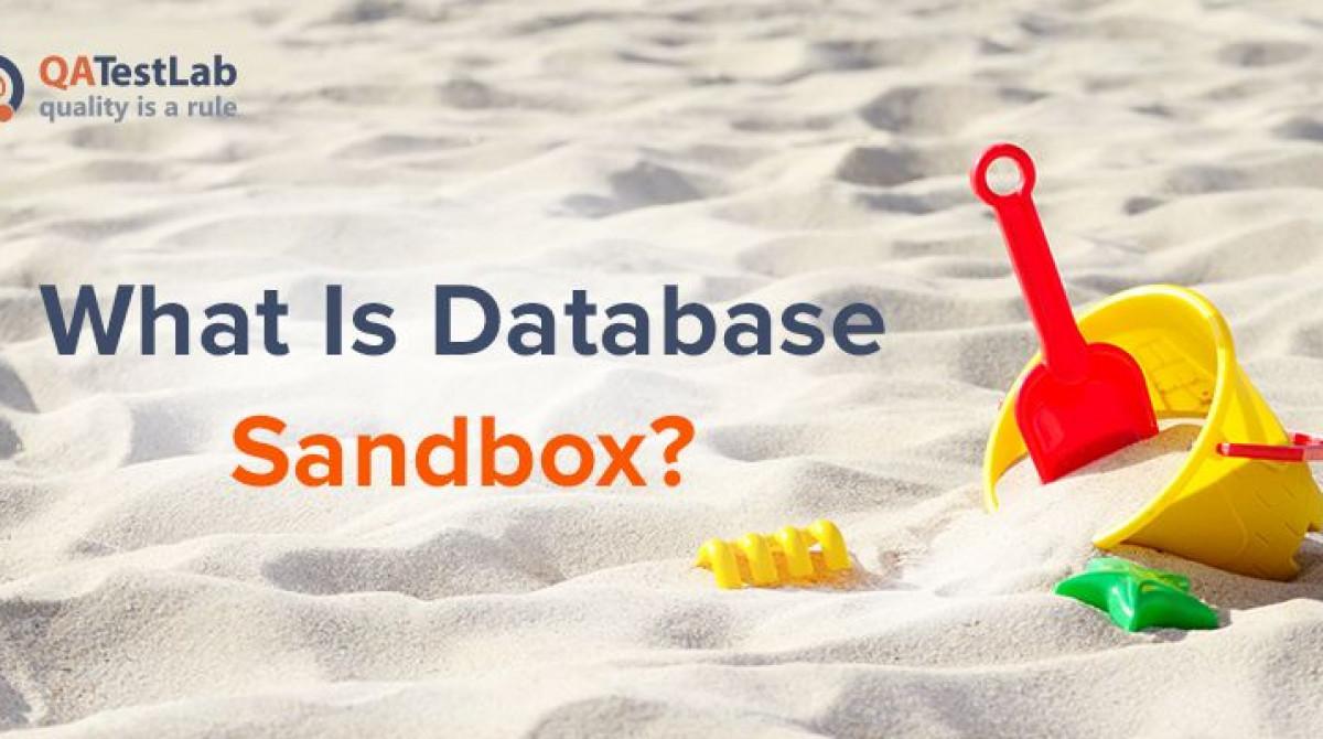 What Is Database Sandbox?