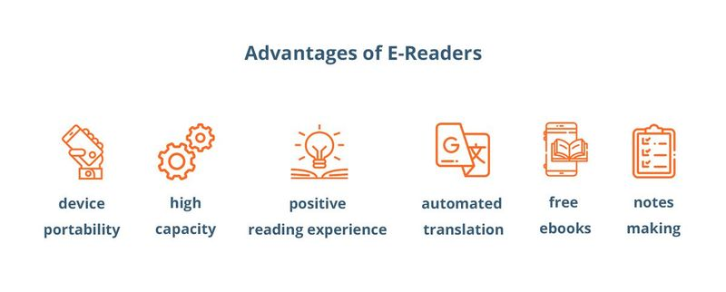 E-readers advantages