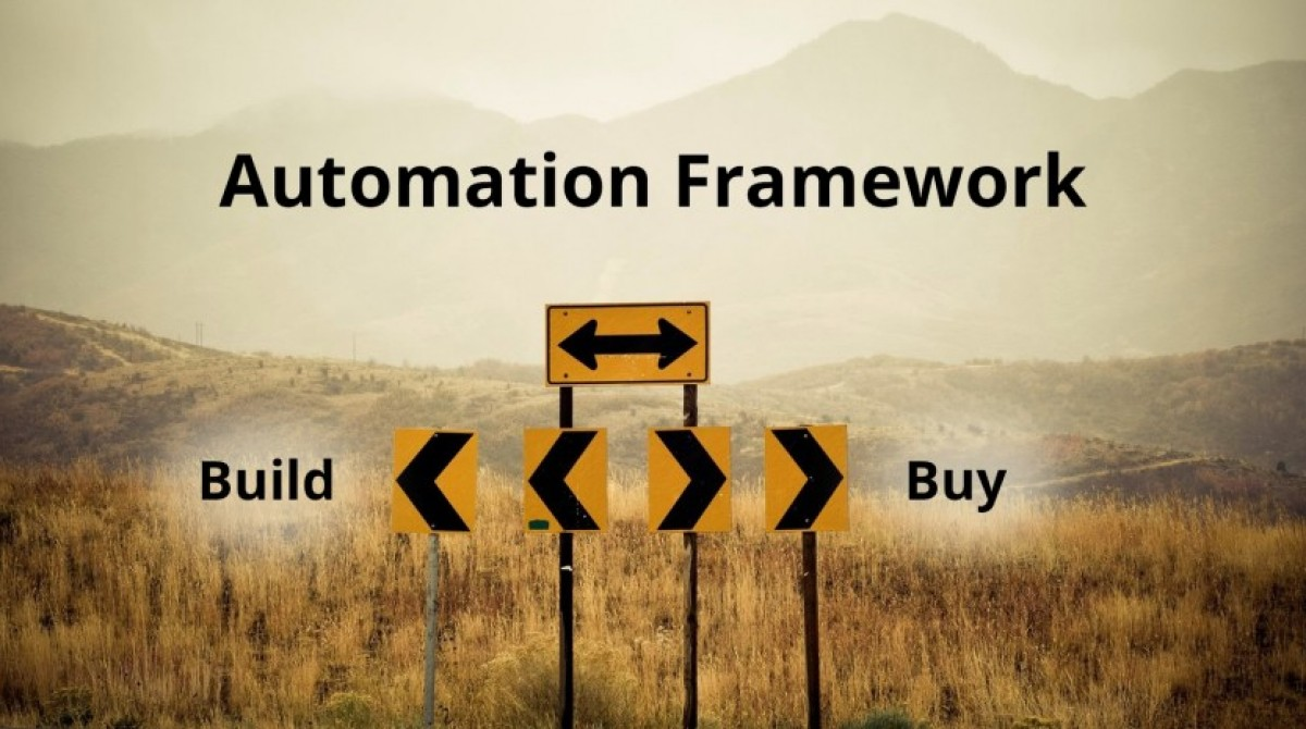 To build or not to build own test automation framework?