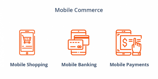 Types of mobile commerce