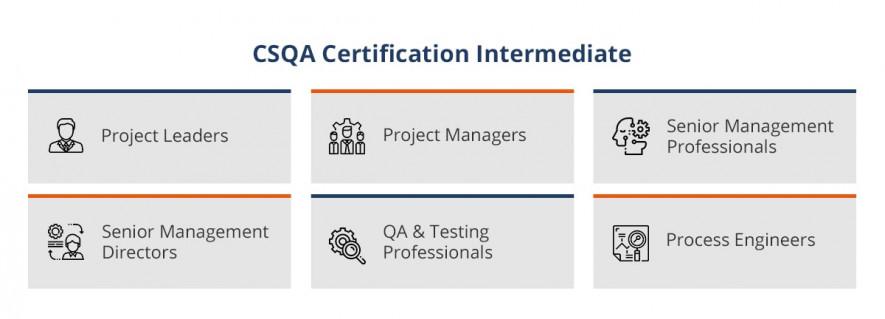 CSQA certification levels