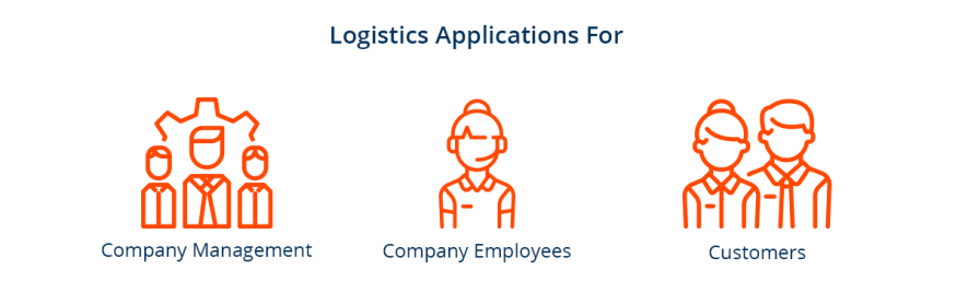 users of logistic applications