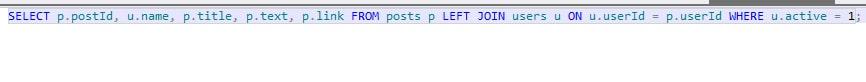 sql basic code