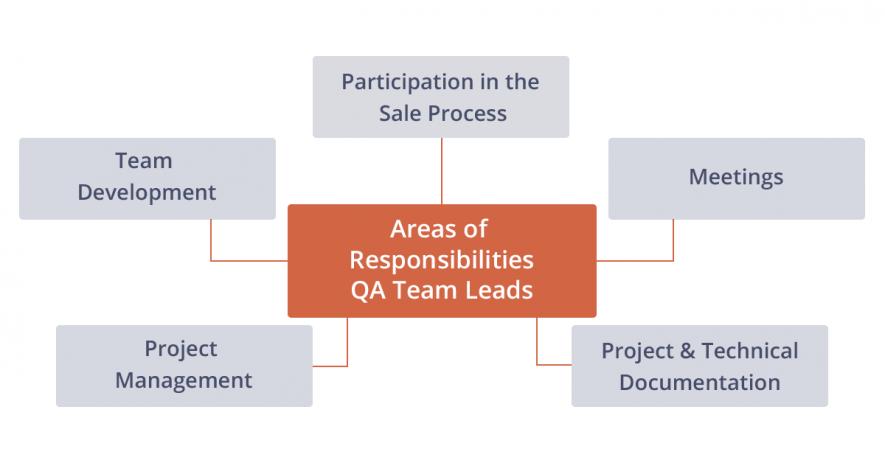 qa leads responsibilities
