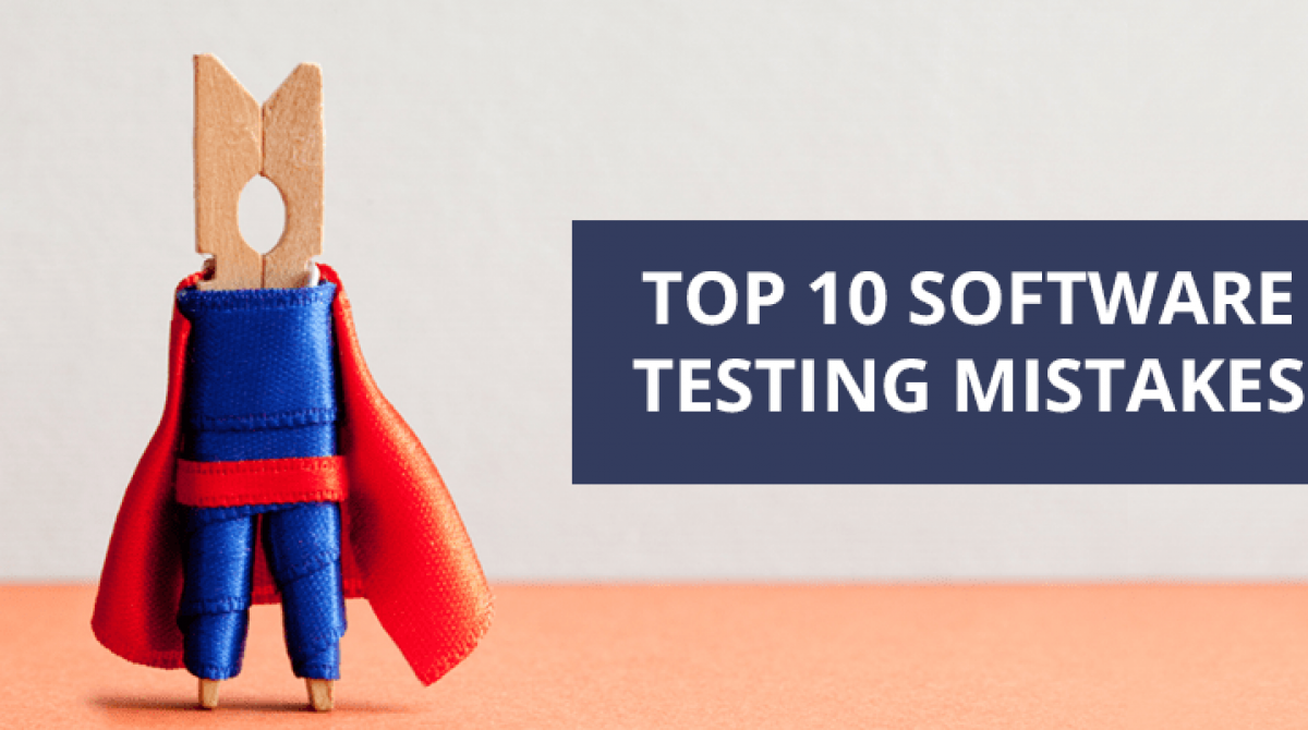 Top 10 Common Errors In Software Testing