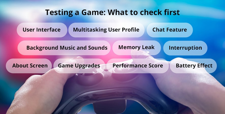 Testing of game: what to check list