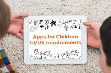 Kids Apps UI/UX requirements