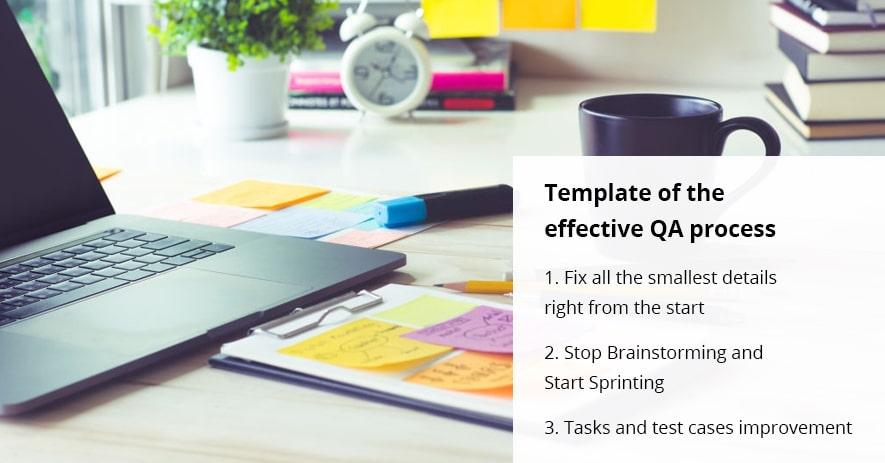 Template QA process