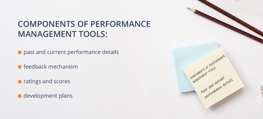 components of performance management tools