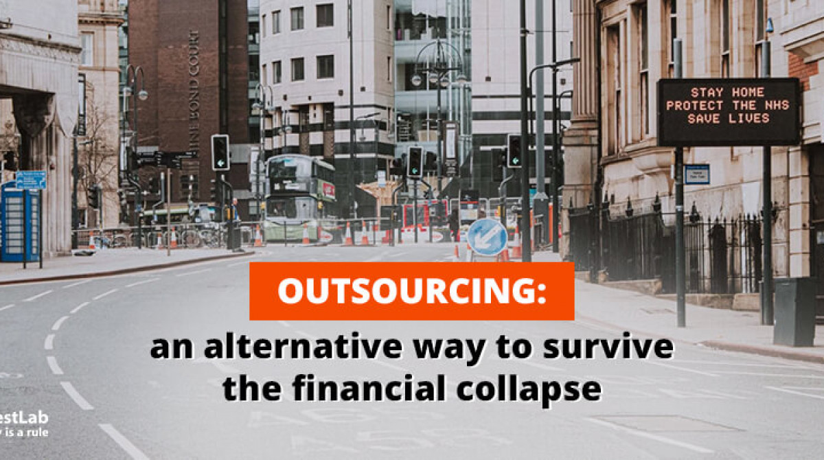 Outsourcing: Save your budget during a crisis caused by COVID-19
