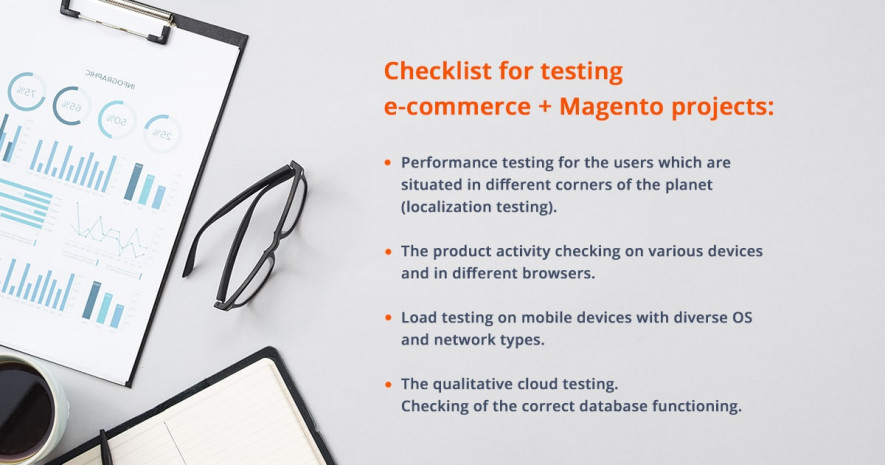 Checklist for testing e-commerce + Magento projects