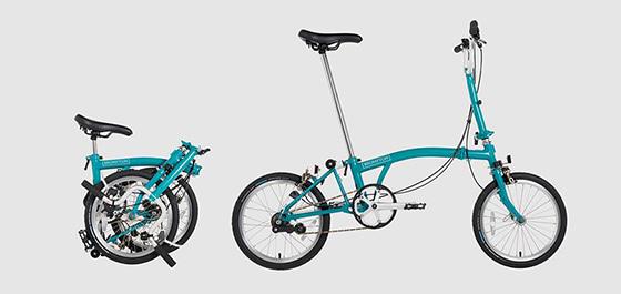 Brompton's electric folding bicycle