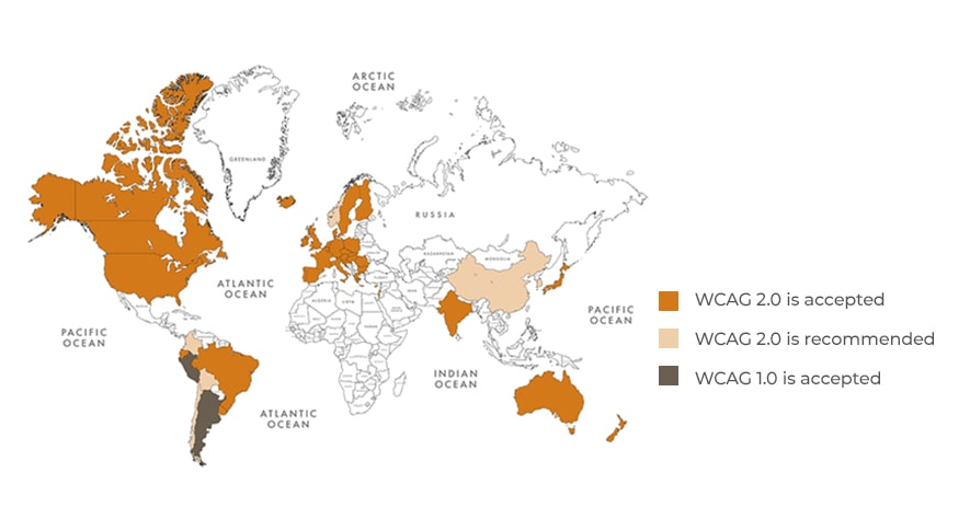 WCAG at a glance