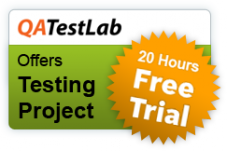 QATestLab offers 20 hours of free trial period